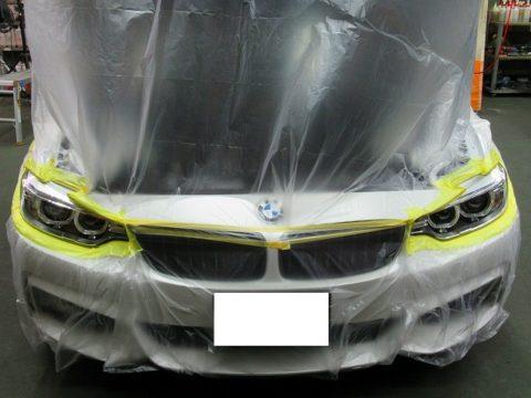 BMW ビーエムダブリュー M420i グランクーペMスポーツ エクスペル・ペイントプロテクションフィルム・アルティメット+貼り込み終了