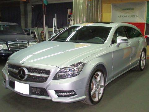 Mercedes-Ben  メルセデスベンツ CLS550 4マチック シューティングブレーク 磨き&ガラスコーティング&オプション再施工終了