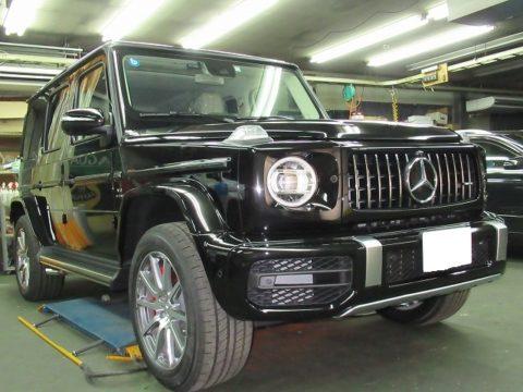 Mercedes-Benz メルセデスベンツ GーAMG63 磨き&コーティング&エクスペル・ペイントプロテクションフィルム&クリアプレックス&オプション施工終了