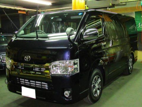TOYOTA トヨタ ハイエース スーパーGL ダークプライムⅡ 2800 4WD 磨き&ガラスコーティング&オプション施工終了