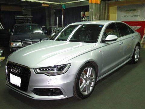 Audi アウディ A6  2.8 FSI クワトロ Sラインパッケージ 4WD 磨き&ガラスコーティング&オプション施工終了