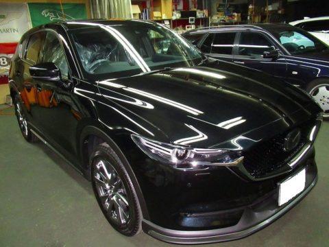 MAZDA マツダ CX-5 XD Exclusive Mode 磨き&ガラスコーティング&オプション施行終了