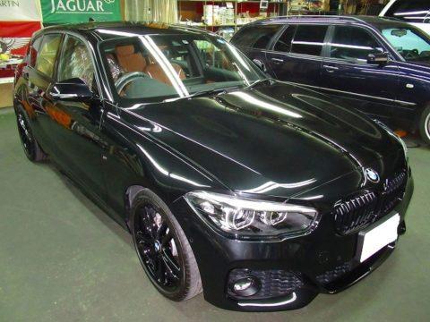 BMW ビーエムダブリュー 118i Mスポーツ 磨き&ガラスコーティング&オプション施工終了