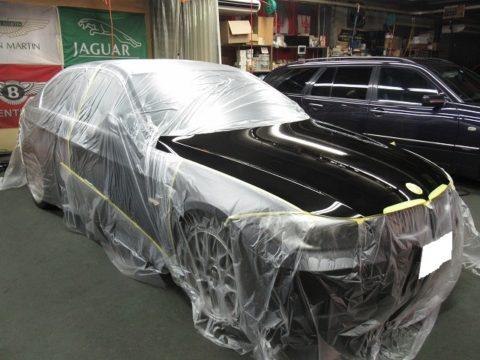BMW  ビーエムダブリュー  323i  Mスポーツ 板金塗装&磨き&ガラスコーティング&オプション補修施工終了