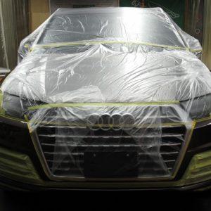 Audi  アウディ  Q7  55  TFSI  quattro 事故補修=磨き&ガラスコーティング&オプション施工終了