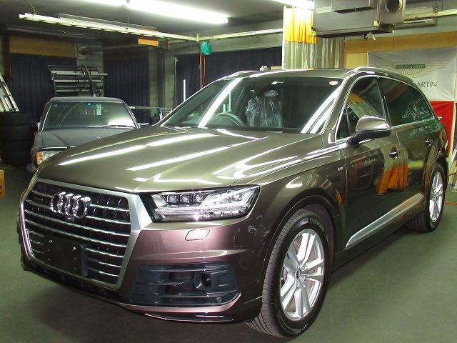 Audi  アウディ  Q7  55  TFSI  quattro(4MCRES)