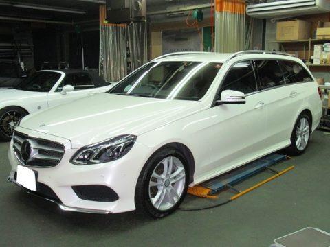 Mercedes-Benz メルセデスベンツ E250ステーションワゴン アバンギャルド 1thアニバーサリーエディション 磨き&ガラスコーティング&オプション施工&外注修理終了