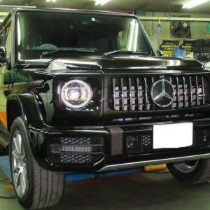 Mercedes-Benz メルセンツ AMG G63 磨き&ガラスコーティング&オプション施工終了