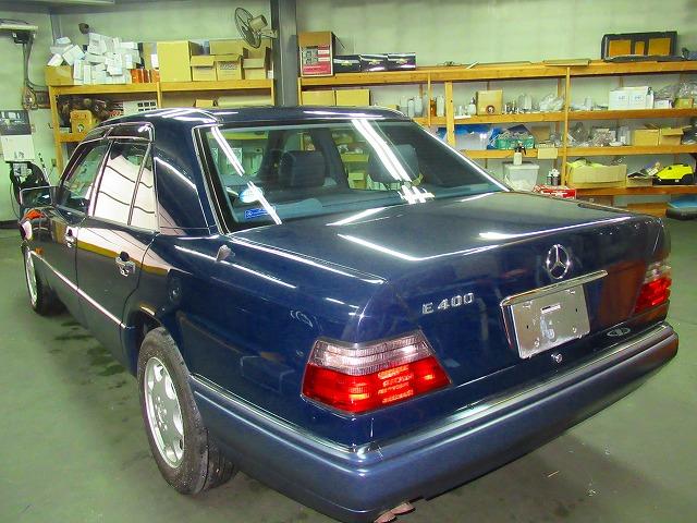 Mercedes-Benz メルセデスベンツ E400(124034)  1995年製  2オーナー(委託販売車両)