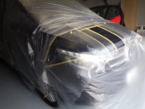 Mercedes-Benz メルセデスベンツ V220d ディーゼルターボ オプション施行=部分傷取り磨き・スポット磨き&」樹脂クリア施行終了