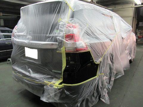 TOYOTA  トヨタ  ランドクルーザー・プラド  TX  Lパッケージ 傷補修=磨き&ガラスコーティング&オプション施行終了