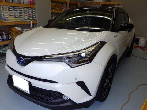 TOYOTA トヨタ C-HR G LEDエディション 工事保険賠償=磨き&ガラスコーティング&オプション施工終了