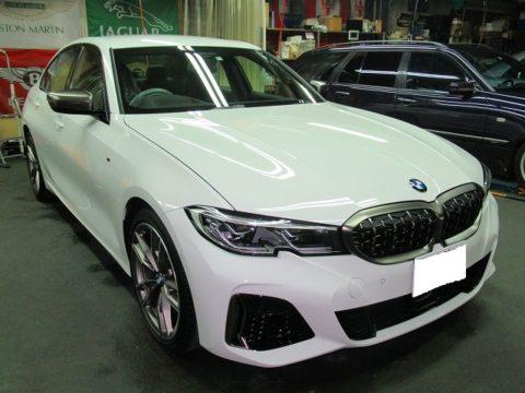 BMW ビーエムダブリュー M340i xDrive 磨き&ガラスコーティング&オプション施行終了