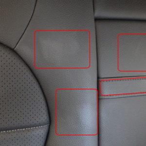 Mercedes-Benz メルセデスベンツ 4マチック ローレウス エディション 4WD 内装日焼け止めクリーム染み抜き終了