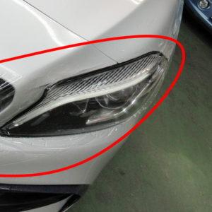 Mercedes-Ben  メルセデスベンツ  AMG  エーエムジー  A45  4マチック 4WD フレックスシールド・ペイントプロテクションフィルム=施工不良有償貼り直し終了