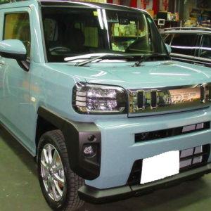 DAIHATSU ダイハツ タフト Gターボ4WD 磨き&ガラスコーティング&オプション施工終了