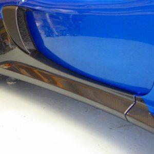 LOTUS ロータス エキシージS V6 オプション施工STEKグロスカーボンペイントプロテクションフィルム貼り込み終了