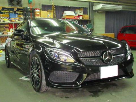 Mercedes-Ben  メルセデスベンツ AMG C43 4MATIC COPē(4BA-205364C)磨き&ガラスコーティング&オプション施工終了