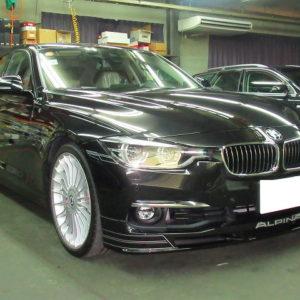 BMW ALPINA ビーエムダブリュー・アルピナ B3BiTurboリムジン(ABA-3R20)磨き&ガラスコーティング&オプション施工終了