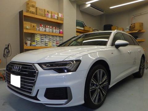 Audi アウディ A6 5.5  TFSI  クワトロ  Sラインパッケージ  4WD(3AA-F2DLZF)