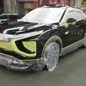 MITUBISI ミツビシ エクリプスクロス PHEV P 4WD(4B12 MIVEC)磨き&ガラスコーティング&オプション施工終了