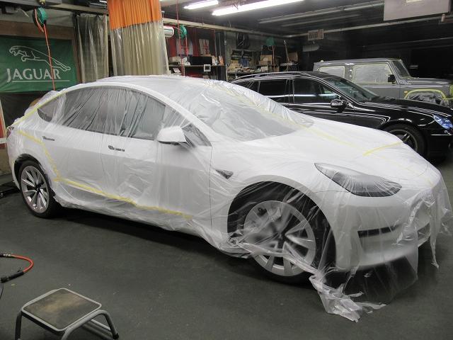 Tesla テスラ モデル3 デュアルモーターAWD(ZAA-3L23)